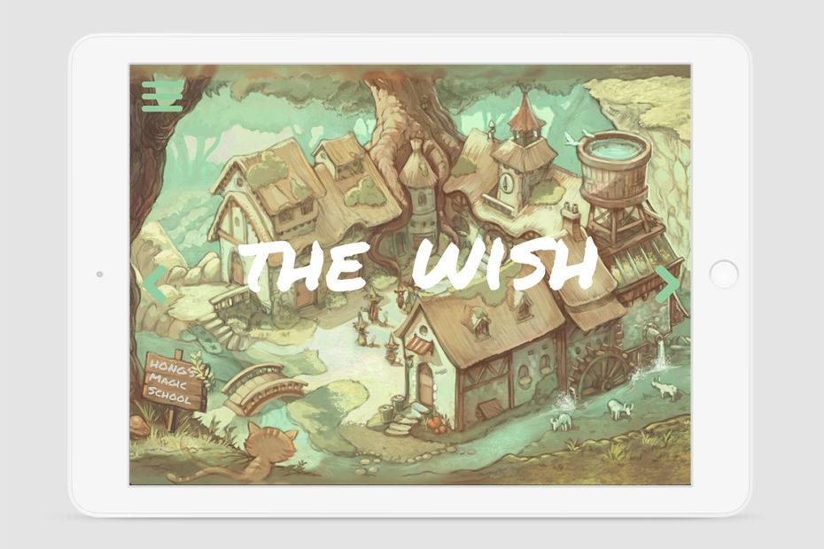 E-comicbook - The Wish
