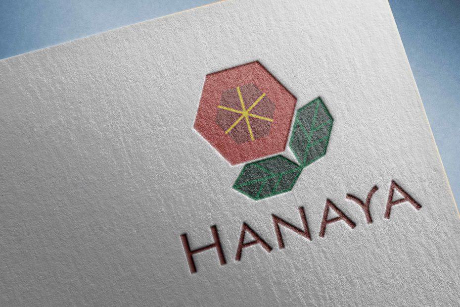 Flower Shop Logo - Hanaya