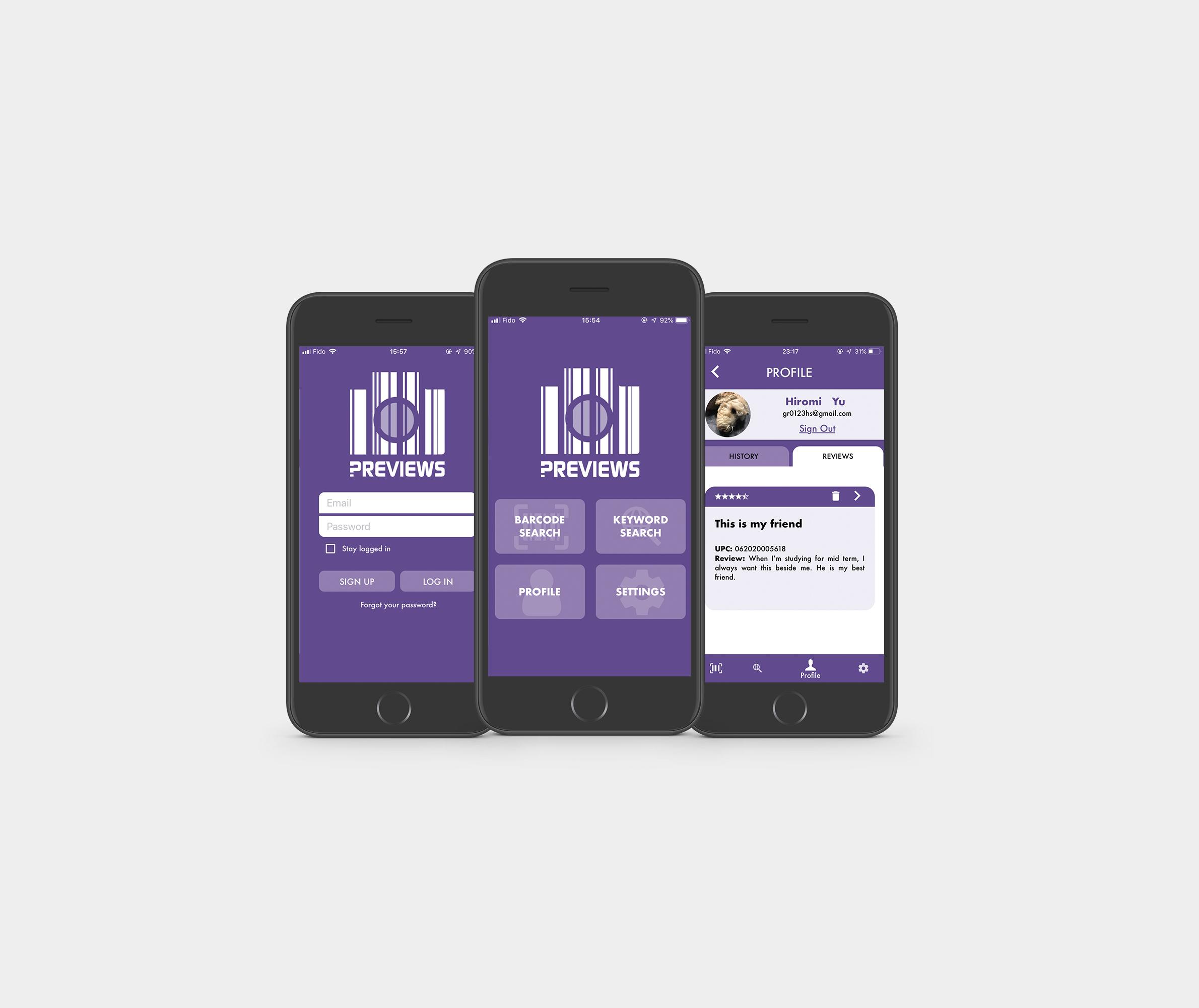 Barcode Scaner App - Preview